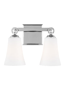 Feiss Monterro 2-Light Bath Vanity Chrome