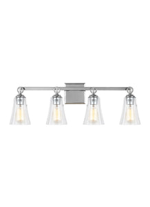 Feiss Monterro 4-Light Bath Vanity Chrome