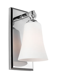 Feiss Monterro 1-Light Wall Sconce Chrome