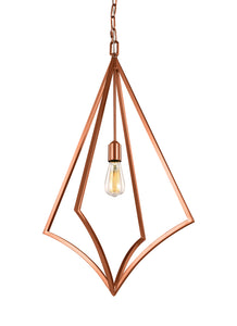 Feiss Nico 1-Light Large Pendant Copper
