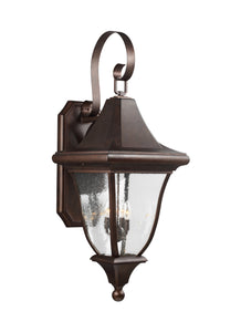 Feiss Oakmont 4-Light Outdoor Wall Lantern Patina Bronze