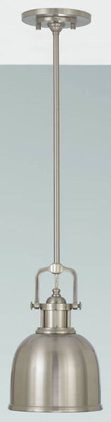 Feiss Parker Place Pendant Brushed Steel P1145BS