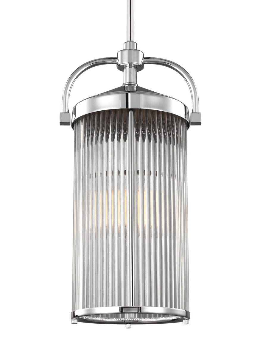 "10""W Paulson 1-Light Pendant Chrome"