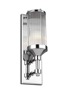 Feiss Paulson 1-Light Wall Sconce Chrome