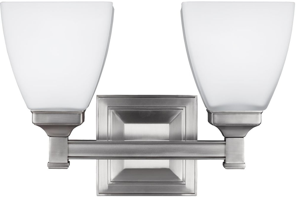"13""W Putnam 2-Light Bath Vanity Satin Nickel"
