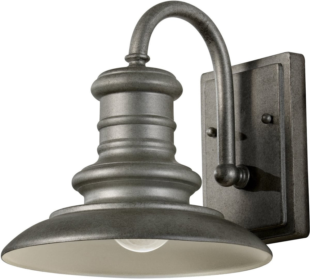 "10""w Redding Station 1-Light Wall Sconce Tarnished"
