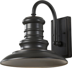 Feiss Redding Station 1-Light Wall Sconce Restoration Bronze OL8601RSZ