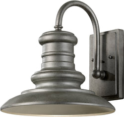 "13""w Redding Station 1-Light Wall Sconce Tarnished"
