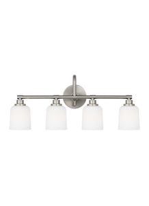 "29""w Reiser 4-Light Bath Vanity Satin Nickel"