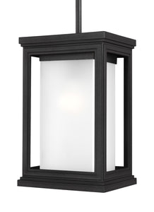 Feiss Roscoe 1-Light Outdoor Pendant Textured Black