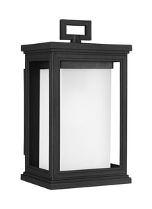 Roscoe 1-Light Outdoor Wall Lantern Textured Black