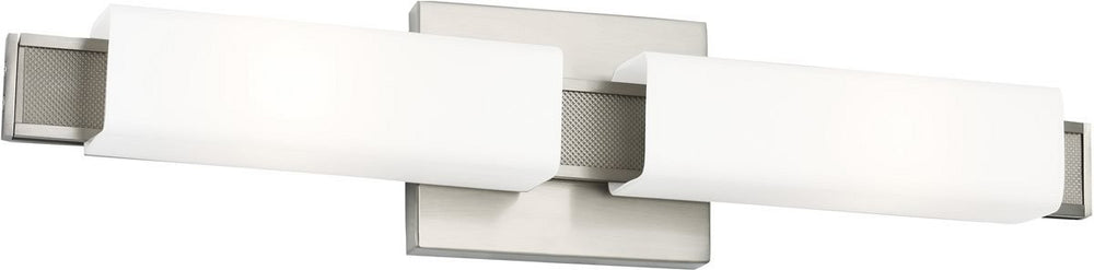 Talia 2-Light Wall Sconce Brushed Steel