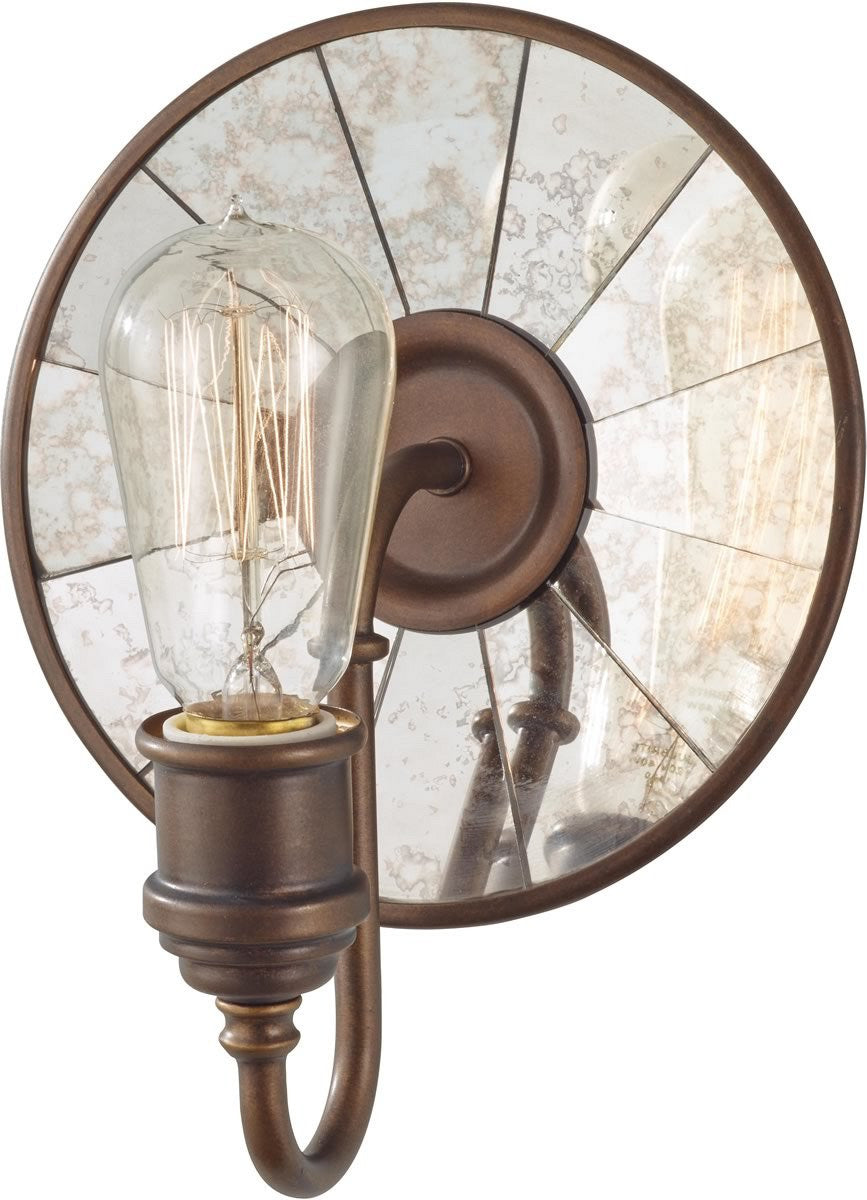 "8""w Urban Renewal 1-Light Bath Vanity Light Astral Bronze"