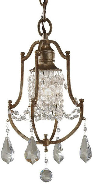 Feiss Valentina 1-Light Pendant Oxidized Bronze F26241OBZ