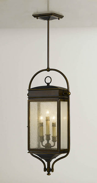 Feiss Whitaker Outdoor Hanging Lantern Astral Bronze OL7411ASTB
