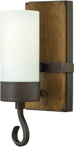 Fredrick Ramond Cabot 1-Light Sconce Rustic Iron FR48430IRN
