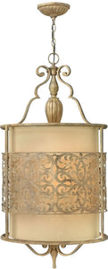 Fredrick Ramond Carabel 4-Light Pendant Foyer Brushed Champagne FR44624BCH