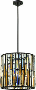 Gemma 3-Light Chandelier Vintage Bronze
