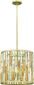Fredrick Ramond Gemma 3-Light Foyer Silver Leaf FR33734SLF