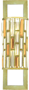 Fredrick Ramond Gemma 2-Light Sconce Silver Leaf FR33730SLF