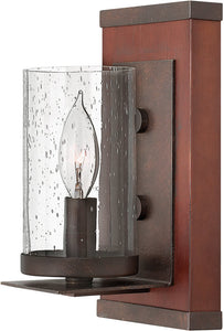 Fredrick Ramond Jasper 1-Light Wall Sconce Iron FR40200IRN