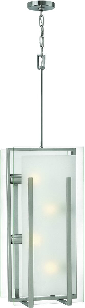 Latitude 4-Light Foyer Brushed Nickel
