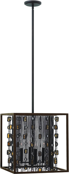 Fredrick Ramond Mercato 4-Light Foyer Anchor Bronze FR32544ABR