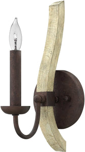 "5""w Middlefield 1-Light Wall Sconce Iron Rust"