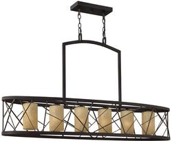 Fredrick Ramond Nest 6-Light Island Chandelier Oil Rubbed Bronze FR41616ORB