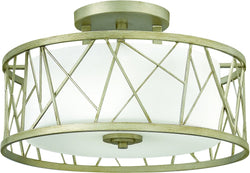 Fredrick Ramond Nest 3-Light Foyer Silver Leaf FR41622SLF