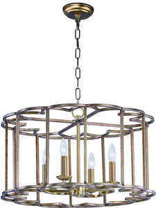 Maxim Helix 4-Light Chandelier 24736BZF
