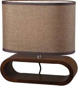 Dimond 1-Light Accent Lamp Bennford Natural Stain Dimond153
