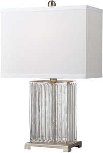 Dimond 1-Light 3-Way Table Lamp Clear Dimond140