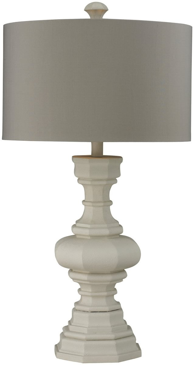 1-Light 3-Way Table Lamp Parisian Plaster