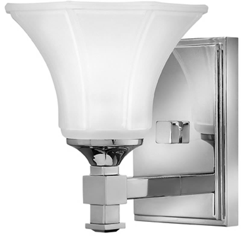 "7""w Abbie 1-Light Bath Vanity Chrome"