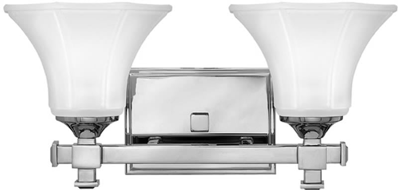 "16""w Abbie 2-Light Bath Vanity Chrome"
