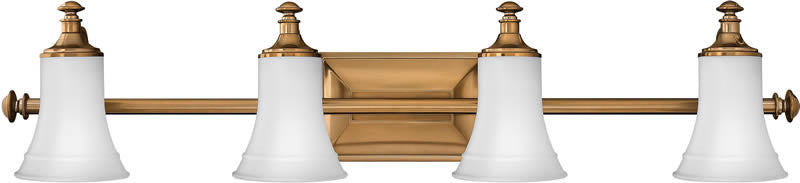 "37""w Alice 4-Light Bath Vanity Brushed Bronze"