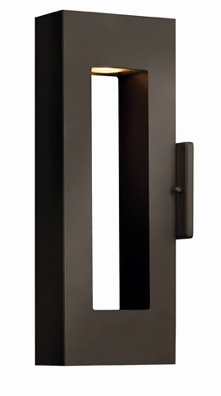 "16""h Atlantis 2-Light LED Outdoor Wall Mount Bronze"