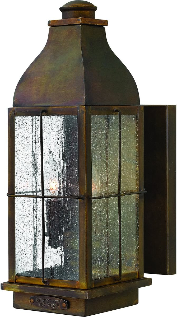 "16""h Bingham 2-Light Medium Outdoor Wall Lantern Sienna"