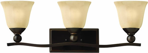 "26""w Bolla 3-Light Bath Vanity Olde Bronze"