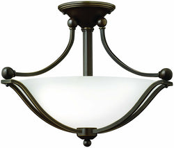 Hinkley Bolla 2-Light Chandelier Olde Bronze 4651OBOPAL