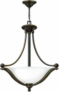 Hinkley Bolla 3-Light Chandelier Olde Bronze 4652OBOPLED