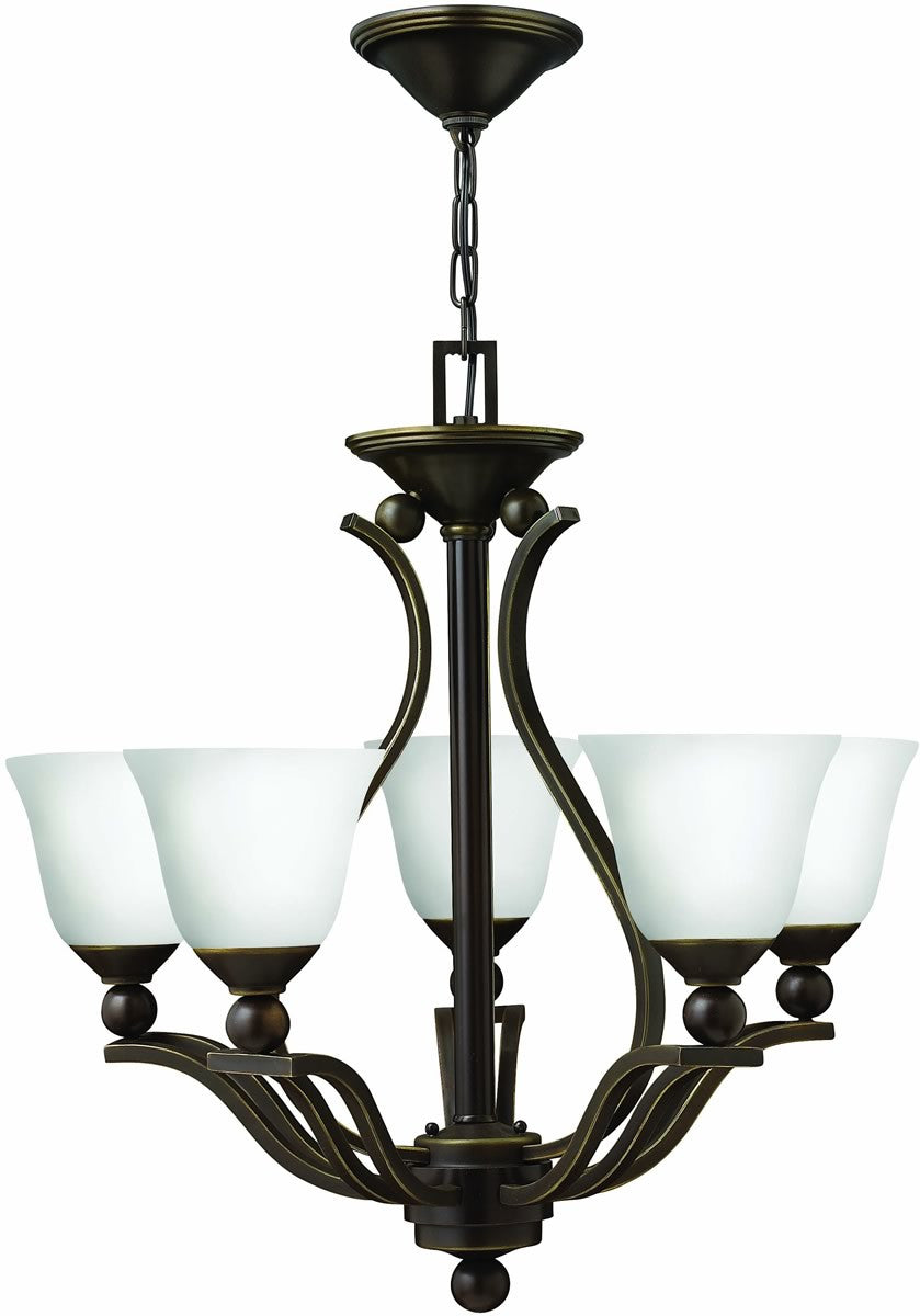 Bolla 5-Light Chandelier Olde Bronze