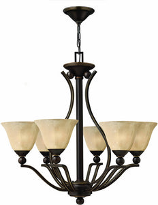 Hinkley Bolla 6-Light Chandelier Olde Bronze 4656OB