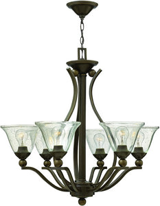 Hinkley Bolla 6-Light Chandelier Olde Bronze 4656OB-CL