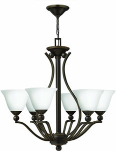 Hinkley Bolla 3-Light Chandelier Olde Bronze 4656OBOPAL