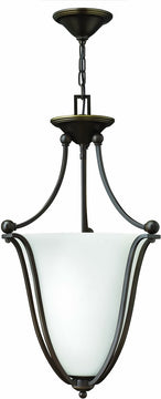 "13""W Bolla 3-Light Chandelier Olde Bronze"