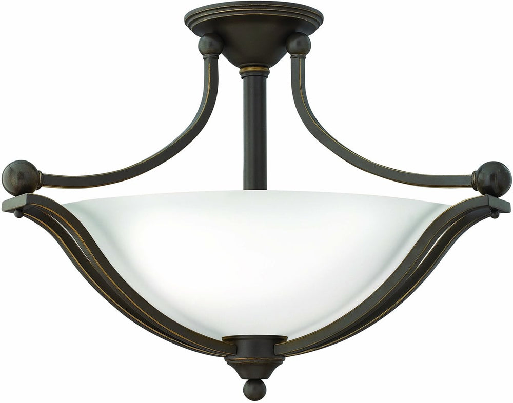 Bolla 3-Light Chandelier Olde Bronze