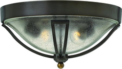 Hinkley Bolla 2-Light Outdoor Ceiling Light Olde Bronze 2643OB