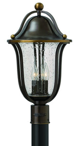 "21""H Bolla 3-Light Outdoor Post Light Olde Bronze 2641OB"